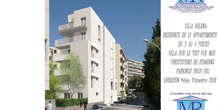 Programme neuf-Appartement-ANTIBES