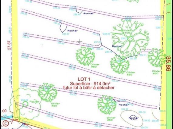 Achat-Terrain Constructible-TOURRETTES-SUR-LOUP