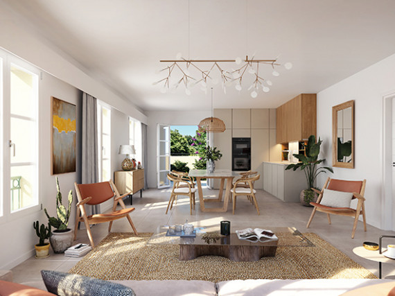 Programme neuf-Appartement-LE-ROURET